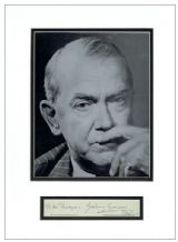 Graham Greene Autograph Signed